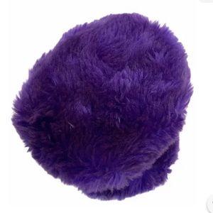 Vintage 80's Purple Adjustible Earmuffs - Made In Taiwan